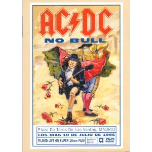 AC/DC : NO BULL - MADRID 1996 (DVD)