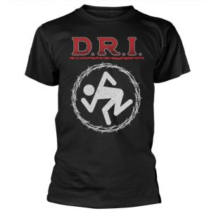 D.R.I. - BARBED WIRE T-SHIRT SIZE M