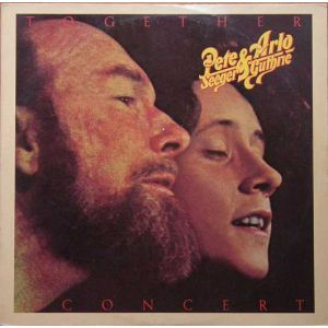 PETE SEEGER & ARLO GUTHRIE : TOGETHER IN CONCERT (2 LP)