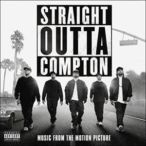 OST (N.W.A., FUNKADELIC, ROY AYERS UBIQUITY...) : STRAIGHT OUTTA COMPTON (2 LP)